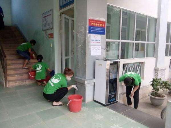 Bệnh viện đa khoa huyện Xín Mần chủ động,tăng cường công tác phòng chống và điều trị các bệnh dịch mùa mưa lũ