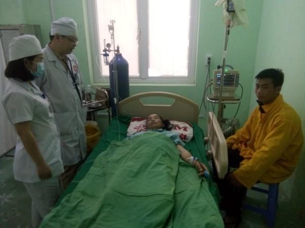 Bệnh viện Đa khoa huyện Xín Mần, tỉnh Hà Giang, Phẫu thuật thành công khối u ổ bụng nặng 6,2kg.