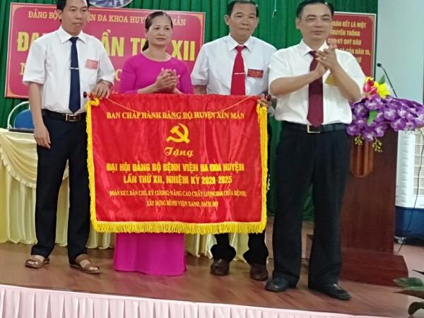 Đại Hội Đảng Bộ Bệnh Viện đa khoa huyện Xín Mần lần thứ XII nhiệm kỳ 2020-2025
