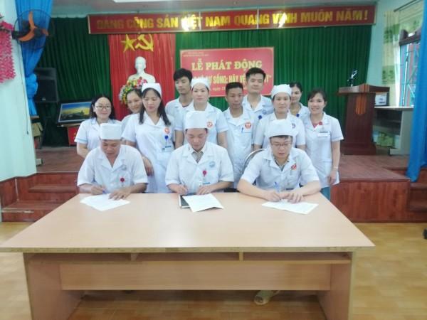 Lễ phát động triển khai chương trình vệ sinh tay tại Bệnh viện đa khoa huyện Xín Mần