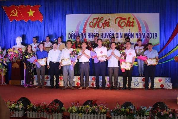 Bệnh viện đa khoa huyện Xín Mần tham dự Hội thi dân vận khéo  huyện Xín Mần năm 2019.